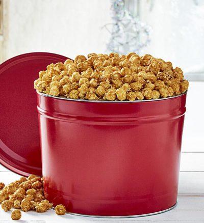 Popcorn Tin Caramel Popcorn Tin